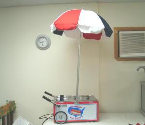 Tabletop Hot Dog Cart Clarkstown Rentals Dba Fiesta Time
